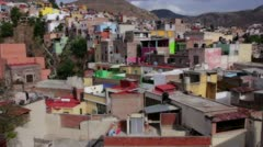 Colorful Houses of Mexico Stock Footage