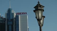 Odessa Cruise Terminal Stock Footage