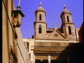 Old Cairo, Coptic district, hanging church 108175 Stock Footage