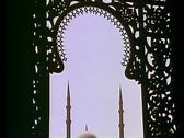 Stock Video Footage of Muhammad Ali Mosque in Cairo, 108188