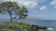 Stock Video Footage of Kahoolawe, Hawaii from South Maui