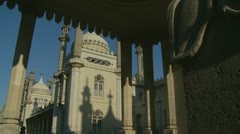 Brighton's Royal Pavilion (twenty one) - stock footage