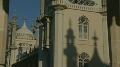 Brighton's Royal Pavilion (twenty) - stock footage