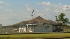 Airport weather station, David, Panama Stock Footage