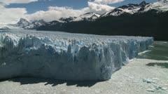 """""""Perito Moreno"""" glacier, El Calafate, Argentina. Stock Footage"""
