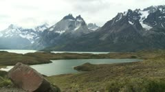 Nature of Andes, Chile - stock footage