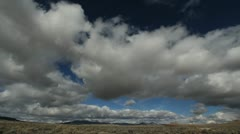 Nevada clouds timelapse Stock Footage
