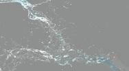Water splash Stock Footage