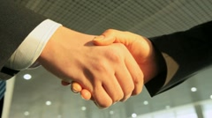 Business handshake Stock Footage