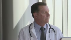 Experienced Doctor - Focused (3 of 3) Stock Footage