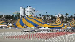 Cirque Du Soleil Stock Footage