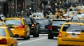New York City, Manhattan, Fifth Avenue at Rush Hour Footage