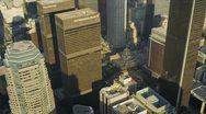 Stock Video Footage of Aerial view of city skyscrapers Los Angeles, USA