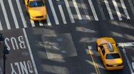 New York City, Manhattan, West 34th Street Stock Footage