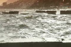 Crashing waves Stock Footage