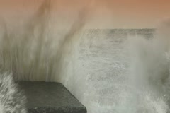 Storm Waves - stock footage