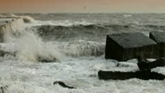 Ocean Fury Stock Footage