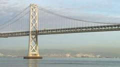 The Oakland Bay Bridge Stock Footage