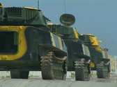 Stock Video Footage of Tanks on the move. #70