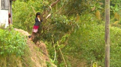 Ngöbe–Buglé children, Panama Stock Footage