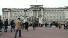 Buckingham Palace Stock Footage
