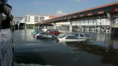 Don Mueang Floods file 1081 Stock Footage