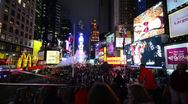 Stock Video Footage of New York City, Manhattan, Times Square