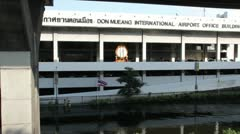 Don Mueang Floods file 1090 Stock Footage