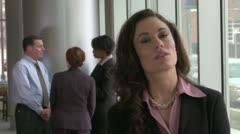 Female - Mid 30's Stressed Stock Footage
