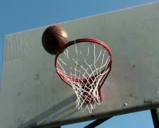 Basketball hoop series V2 - PAL Stock Footage