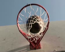 Basketball hoop series V6 - PAL Stock Footage