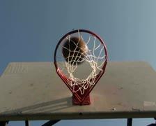 Basketball hoop series V8 - PAL Stock Footage