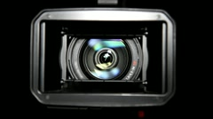 Stock Video Footage of HD Video Camera