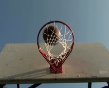 Basketball hopp series V13 - PAL Stock Footage