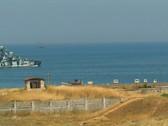 """Stock Video Footage of Missile hovercraft """"Bora"""" Black Sea Fleet. #94"""