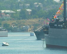 Minesweeper. Day of Russian Navy.  92 Stock Footage