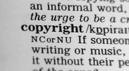 Stock Video Footage of Dictionary Definition - Copyright