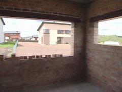 House window niche Stock Footage
