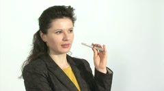Electronic cigarette Stock Footage