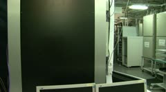 A system block of the computer, server Stock Footage