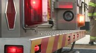 Stock Video Footage of Lights on fire engine (4 of 4)