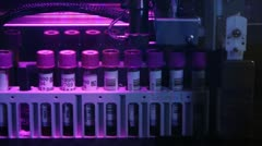 Preparation of reagents for laboratory research - stock footage
