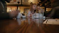 timelapse breakfast - stock footage