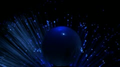 Global Communications data transmission  , LED, - stock footage