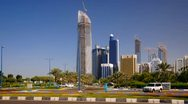 United Arab Emirates, Abu Dhabi (Time Lapse) Stock Footage