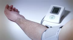 Checking Blood Pressure 17 stylized Stock Footage
