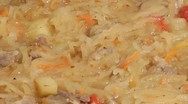 Stock Video Footage of Bigos.