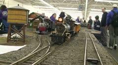 Model Train Follow Shot 1 - stock footage