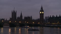 London Big ben - stock footage