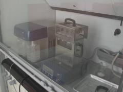 Laboratory quality test Stock Footage